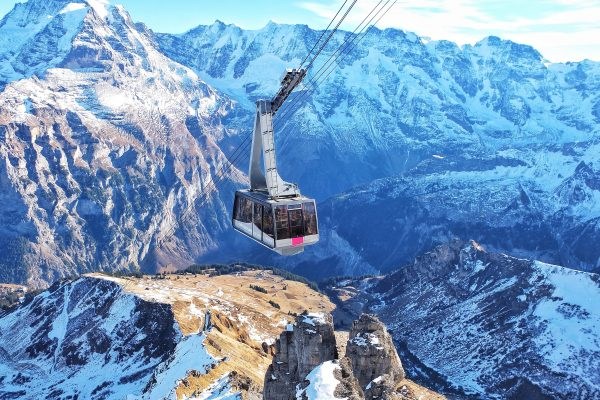 europe, switzerland, cable car